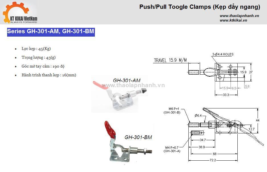 GH301AM, GH301BM catalogue